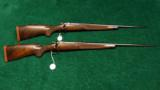 PAIR OF WINCHESTER MODEL 70XTR FACTORY ENGRAVED SUPER GRADE RIFLES - 14 of 14