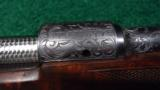 PAIR OF WINCHESTER MODEL 70XTR FACTORY ENGRAVED SUPER GRADE RIFLES - 7 of 14