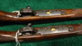 PAIR OF WINCHESTER MODEL 70XTR FACTORY ENGRAVED SUPER GRADE RIFLES - 3 of 14