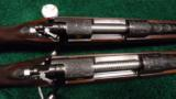 PAIR OF WINCHESTER MODEL 70XTR FACTORY ENGRAVED SUPER GRADE RIFLES - 2 of 14