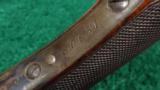 DELUXE WINCHESTER MODEL 1885 HIGH WALL RIFLE IN .30 U.S. - 10 of 13