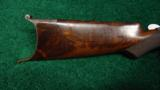 DELUXE WINCHESTER MODEL 1885 HIGH WALL RIFLE IN .30 U.S. - 11 of 13