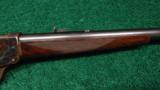 DELUXE WINCHESTER MODEL 1885 HIGH WALL RIFLE IN .30 U.S. - 5 of 13