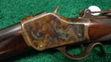 DELUXE WINCHESTER MODEL 1885 HIGH WALL RIFLE IN .30 U.S. - 2 of 13
