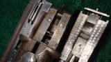ITHACA GRADE 5 ENGRAVED DOUBLE BARREL 12 GAUGE SHOTGUN - 9 of 12