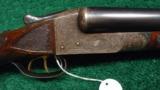 ITHACA GRADE 5 ENGRAVED DOUBLE BARREL 12 GAUGE SHOTGUN - 1 of 12