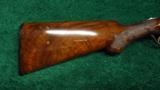 ITHACA GRADE 5 ENGRAVED DOUBLE BARREL 12 GAUGE SHOTGUN - 10 of 12