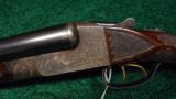ITHACA GRADE 5 ENGRAVED DOUBLE BARREL 12 GAUGE SHOTGUN - 2 of 12