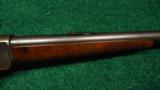 WINCHESTER MODEL 1885 HIGH WALL RIFLE - 5 of 13