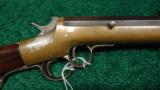 FRANK WESSON TWO TRIGGER SPORTING RIFLE - 1 of 11