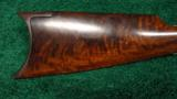FRANK WESSON TWO TRIGGER SPORTING RIFLE - 9 of 11