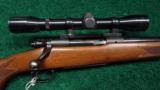 WINCHESTER MODEL 70, 300 H & H MAG - 1 of 9