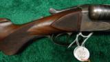 FINE QUALITY J. P. SAUER & SON HAMMERLESS S X S DOUBLE BBL SHOTGUN