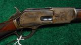 WINCHESTER MODEL 1876 DELUXE SPECIAL ORDER SHORT RIFLE IN 50 EXPRESS - 1 of 14