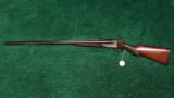 ITHACA DOUBLE BARRELED HAMMERLESS SHOTGUN - 12 of 13