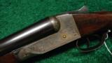 ITHACA DOUBLE BARRELED HAMMERLESS SHOTGUN - 2 of 13