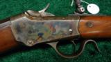 WINCHESTER LOW WALL RIFLE IN .25 WCF - 1 of 12
