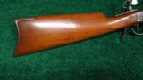 WINCHESTER LOW WALL RIFLE IN .25 WCF - 10 of 12