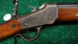 WINCHESTER LOW WALL RIFLE IN .25 WCF - 2 of 12