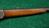 WINCHESTER LOW WALL RIFLE IN .25 WCF - 6 of 12