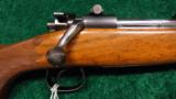 FACTORY ENGRAVED WINCHESTER MODEL 54 SPORTING RIFLE - 1 of 14