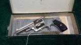 BEAUTIFUL HOPKIS & ALLEN SPUR TRIGGER REVOLVER WITH BOX