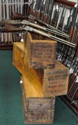 WINCHESTER MODEL 1892 SPORTING RIFLES SHIPPING CRATE