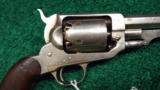 MARTIALLY MARKED E. WHITNEY 2ND MODEL PERCUSSION REVOLVER