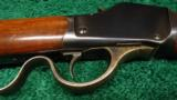 ONE OF A KIND WINCHESTER MODEL 1885 HIGH WALL MUSKET IN CALIBER .32-40