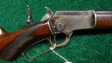 SCARCE DELUXE FACTORY ENGRAVED MARLIN MODEL 1897 RIFLE