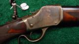 DELUXE WINCHESTER 1885 HIGH WALL IN CALIBER 30 US