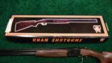 KHAN ARTHEMIS MODEL 12 OVER/UNDER SHOTGUN - 14 of 14