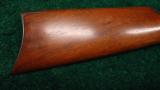 WINCHESTER 1886 RIFLE - 10 of 12