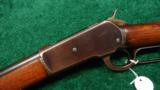 WINCHESTER 1886 RIFLE - 2 of 12