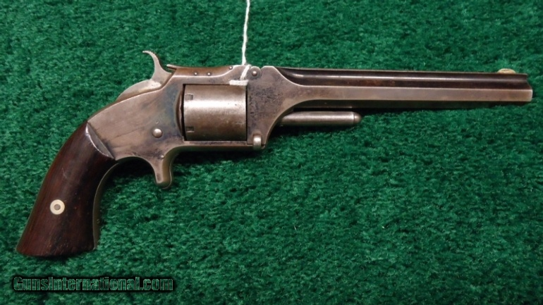 SMITH AND WESSON No. 2 OLD MODEL REVOLVER