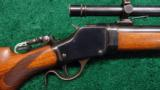 WINCHESTER MODEL 1895 HIGH WALL RIFLE