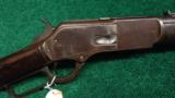 WINCHESTER MODEL 1876 MUSKET WITH SABRE BAYONET IN .45-75