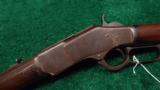 RARE WINCHESTER 1873 SHORT RIFLE - 2 of 13