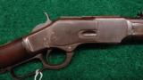 RARE WINCHESTER 1873 SHORT RIFLE - 1 of 13