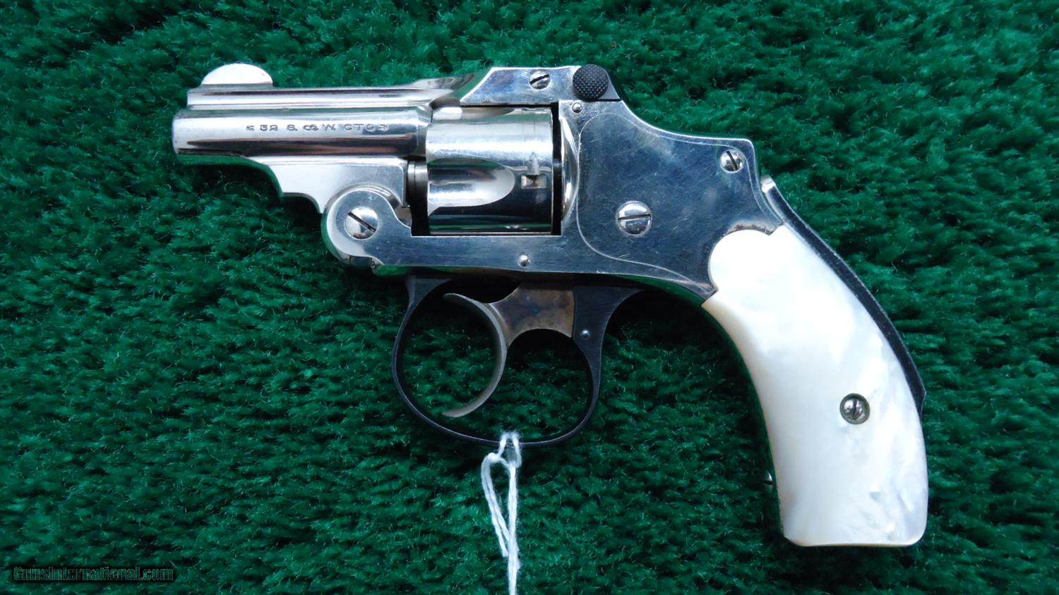 RARE SMITH & WESSON BICYCLE MODEL REVOLVER