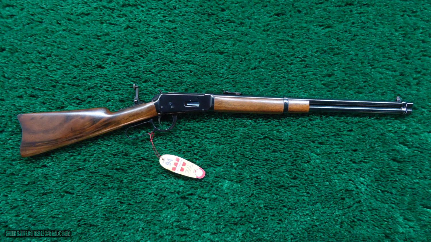 Six Miniature Winchester 1894 Lever Action Rifles In Wooden Crate