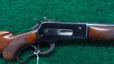 WINCHESTER MODEL 71 DELUXE WITH BOLT PEEP