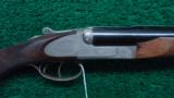 ENGRAVED CHAPUIS EXPRESS DOUBLE RIFLE COMBO GUN