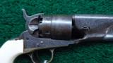 FACTORY ENGRAVED 1860 COLT ARMY REVOLVER