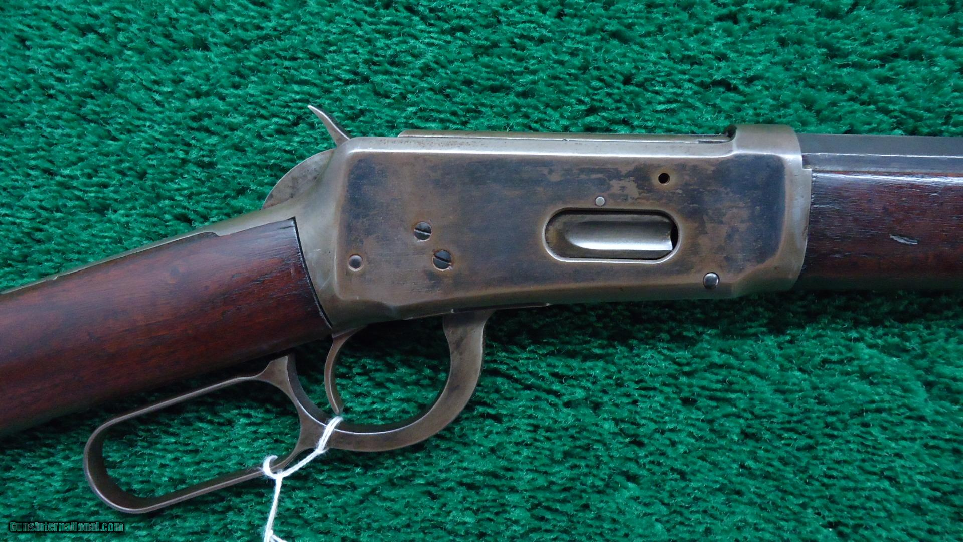 WINCHESTER MODEL 1894 RIFLE IN 25-35