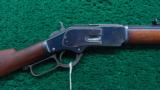 "1873 RIFLE WITH 24"" HALF OCTAGON BBL"