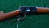 WINCHESTER 92 OCTAGON RIFLE