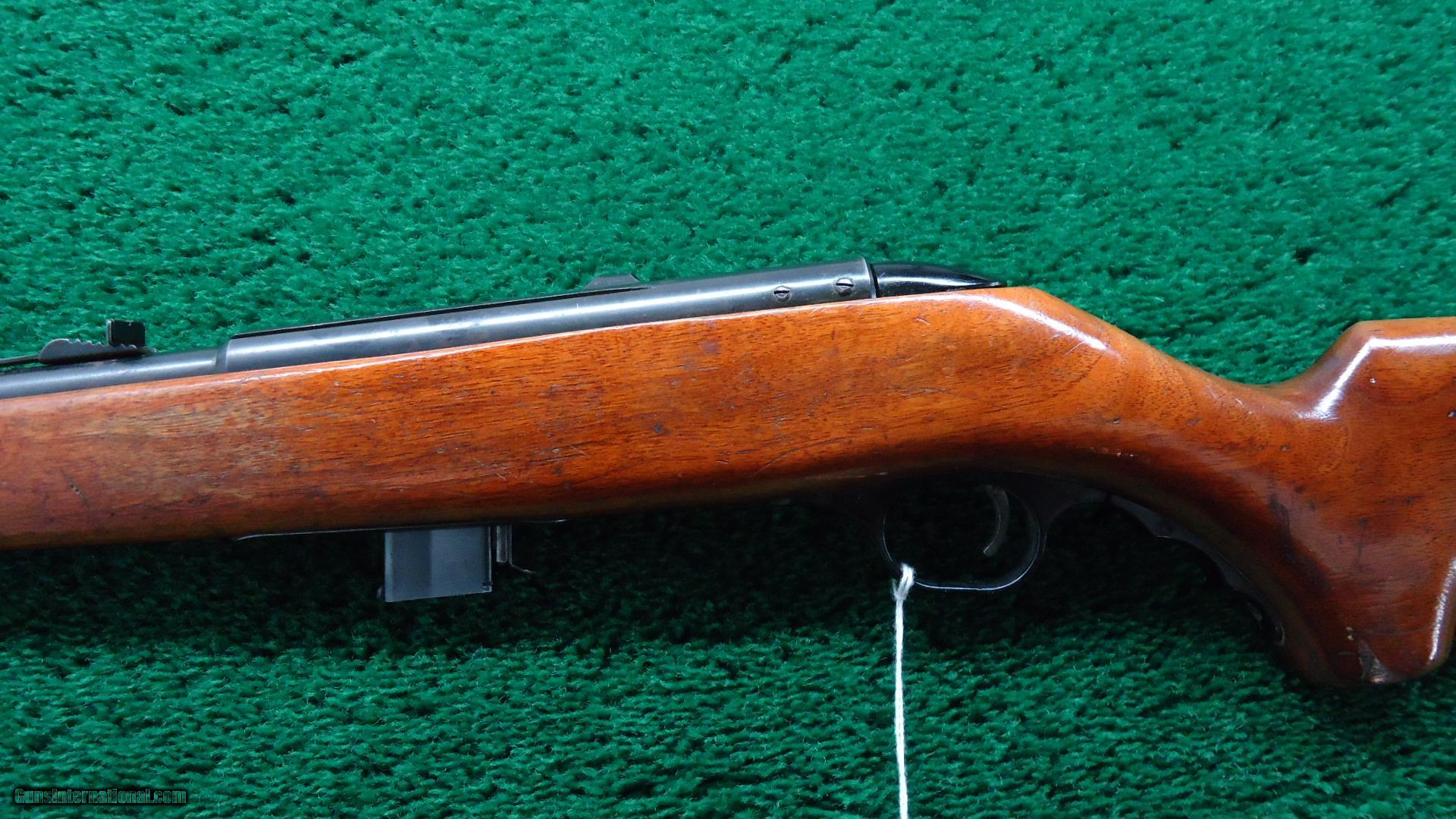 ... MOSSBERG TARGO MODEL 340 TR IN .22 CALIBER SMOOTH BORE - 2 of 15 ...