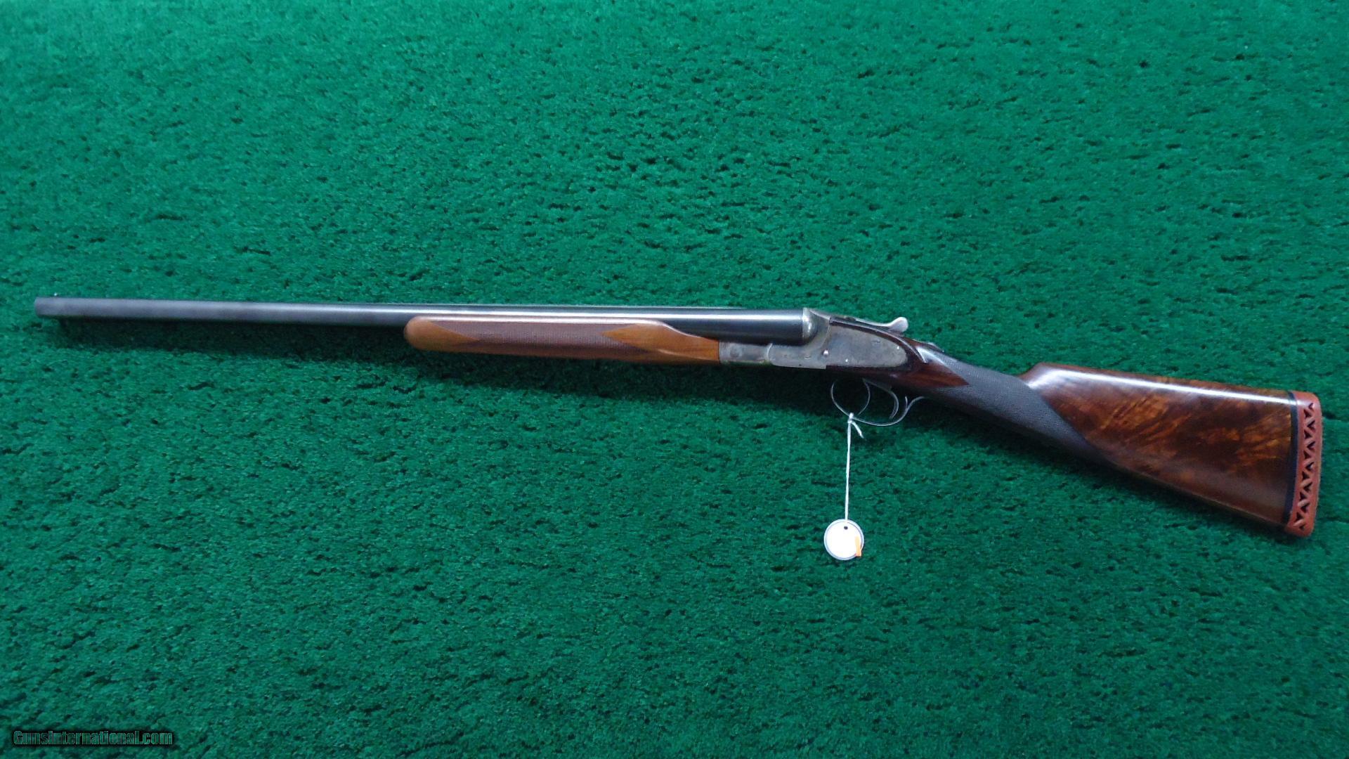 L.C. SMITH DOUBLE BARREL 12 GAUGE SHOTGUN