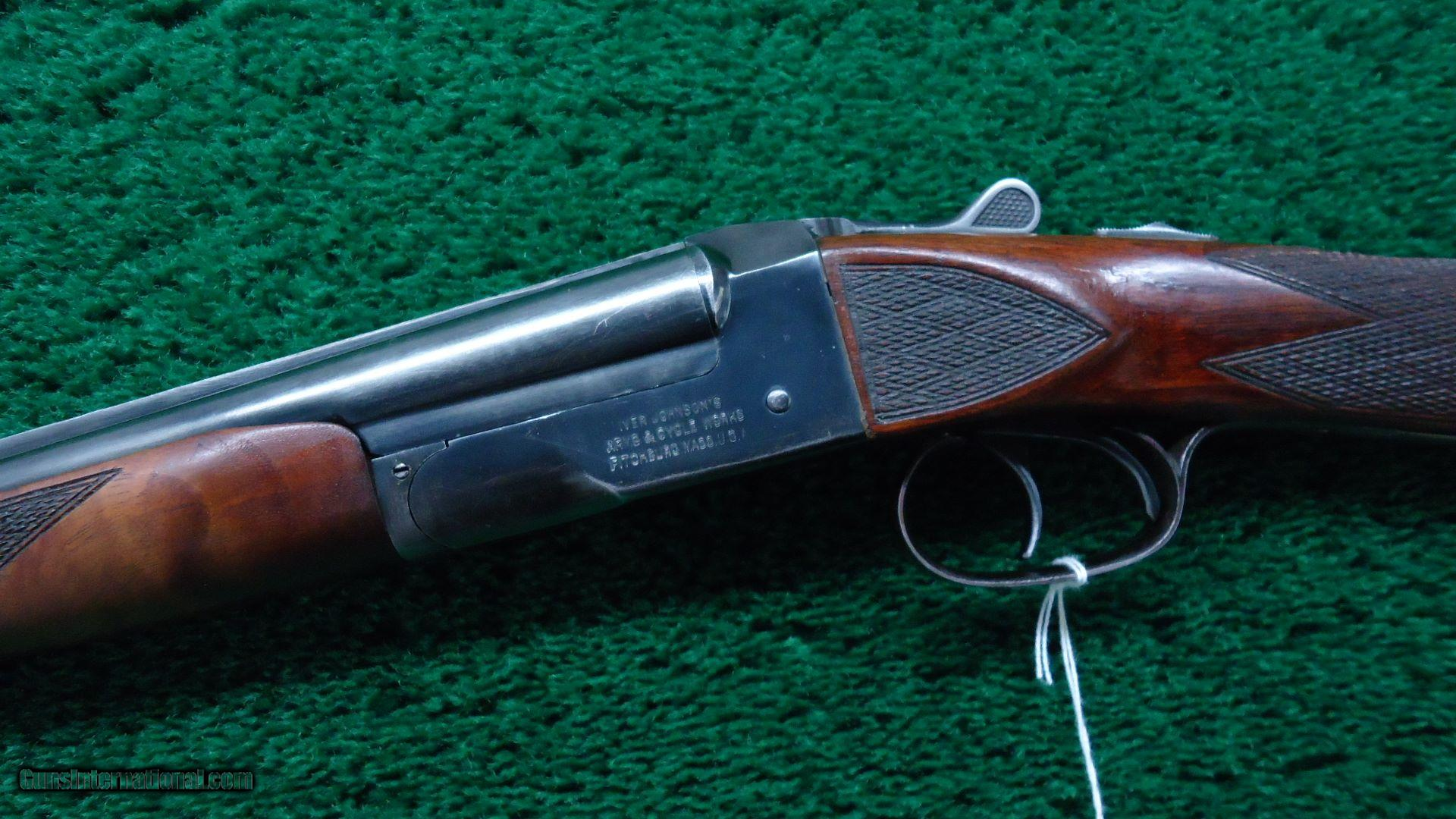 IVER JOHNSON 410 SKEET DOUBLE BARREL SHOTGUN for sale